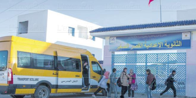 400 bus pour le transport scolaire De notre correspondant permanent, A.A.