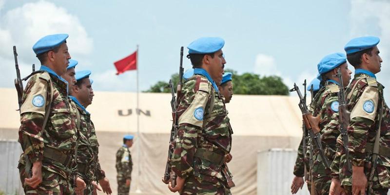 Centrafrique : Des Casques bleus marocains blessés dans une attaque