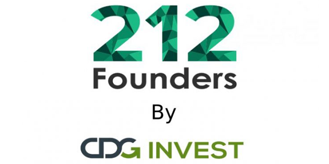 """CDG Invest lance """"212 Founders"""""""