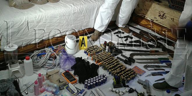 VIDEO/DIAPO - BCIJ: Démantèlement d'une cellule terroriste à Fès