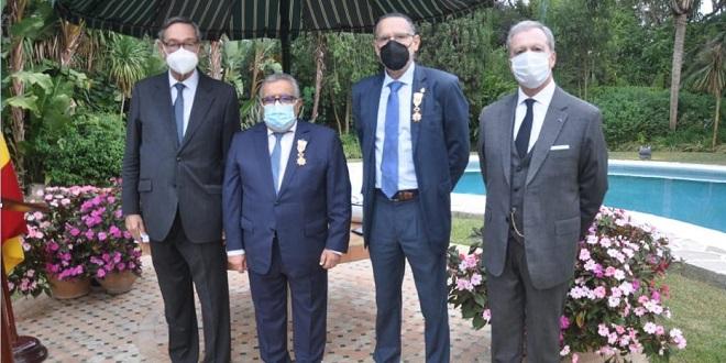 Tanger: Des hommes d'affaires décorés par l'Espagne