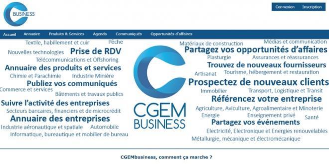 "CGEM lance une plateforme ""business"""