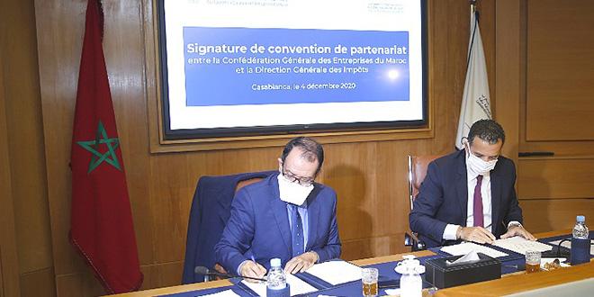 Casablanca: Mise en place du service « Corridor CGEM-DGI »