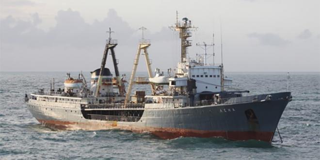 Collision entre un cargo étranger et un chalutier de pêche à Dakhla: portés disparus