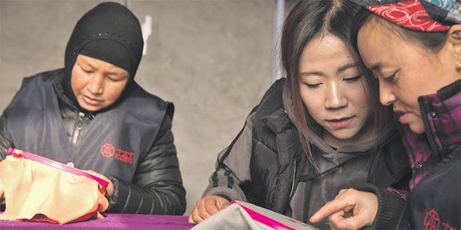 Chine: La broderie pour changer le destin des femmes