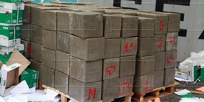 100 kg de chira au port de Tanger Med