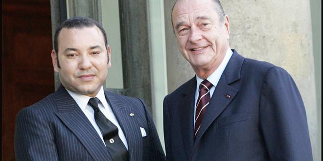 Jacques Chirac: Mohammed VI salue la mémoire d'un grand ami du Maroc