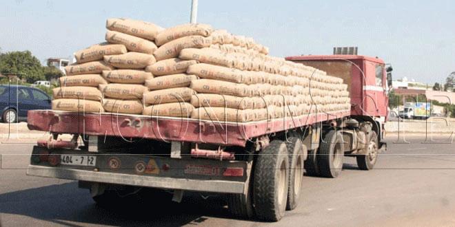 Les ventes de ciment en baisse en 2020