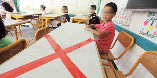 Covid-19: Plus de 13.000 cas en milieu scolaire