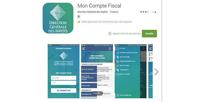 Votre compte fiscal sur votre smartphone !