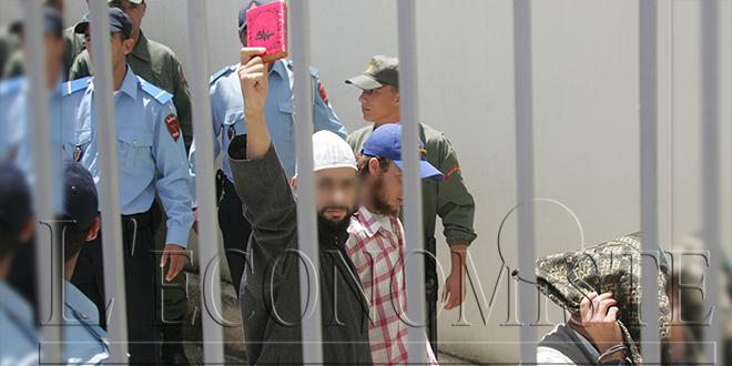Salé : 19 personnes condamnées pour des affaires de terrorisme