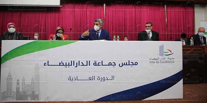 Casablanca : Nouvelle trémie sur bd la Résistance