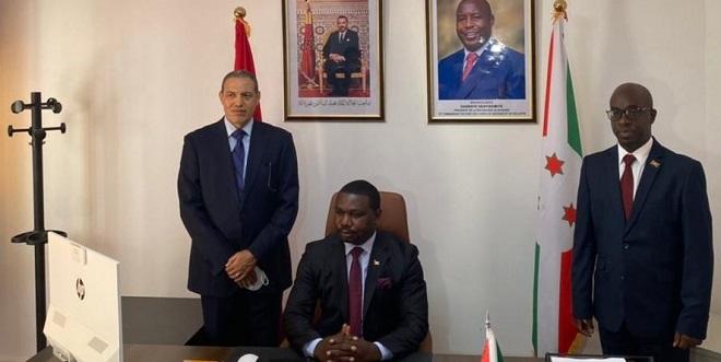 Laâyoune: Le consul général du Burundi installé