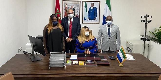Dakhla: La consule générale de Sierra Leone installée