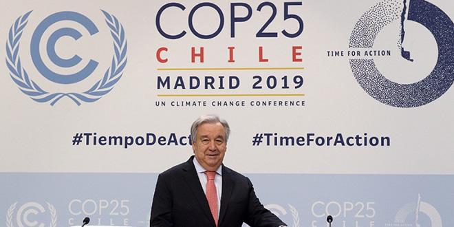 COP25 : une délégation de la chambre des conseillers à Madrid