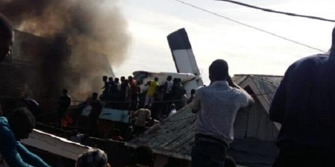RDC: Plusieurs morts dans le crash d'un petit avion