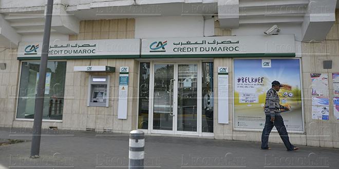Crédit du Maroc: Le RNPG en hausse de 25,3% au T1