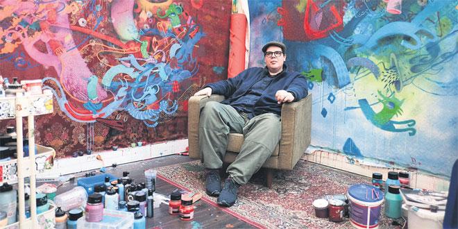 David Bloch Gallery Marrakech: Le ludique mélange des genres d'Alëxone