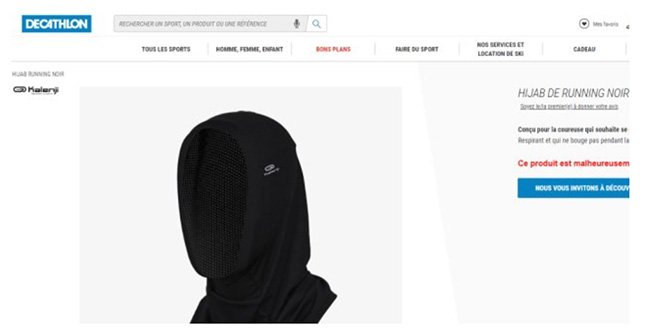 Hijab : Decathlon assume son choix
