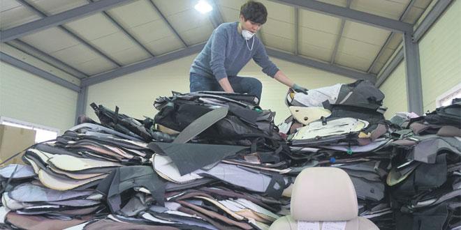 Pour les déchets des voitures, la vie continue