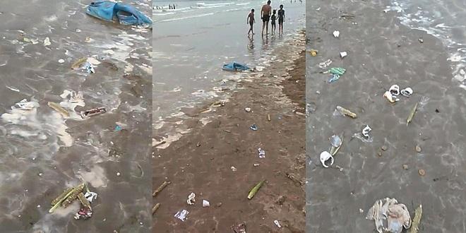 VIDEO/ L'état désastreux de la plage d'El Jadida