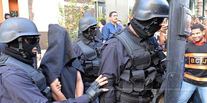 Trois terroristes présumés arrêtés au Maroc