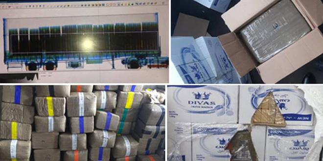 Port de Casablanca: La Douane intercepte près de 10 tonnes de drogue