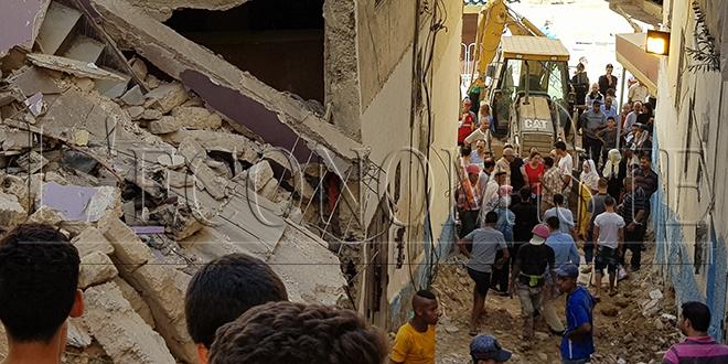 Oujda : Deux morts dans l'effondrement d'un bâtiment