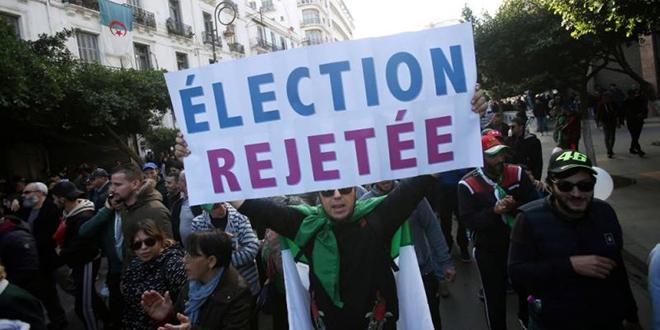Algérie: importante manifestation contre l'élection