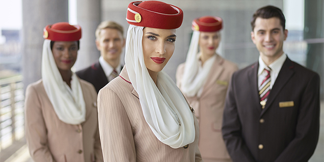 Emirates cherche personnel navigant au Maroc
