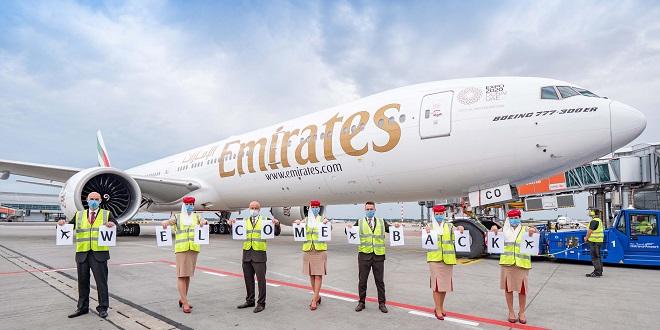 Emirates reprend ses dessertes vers Casablanca