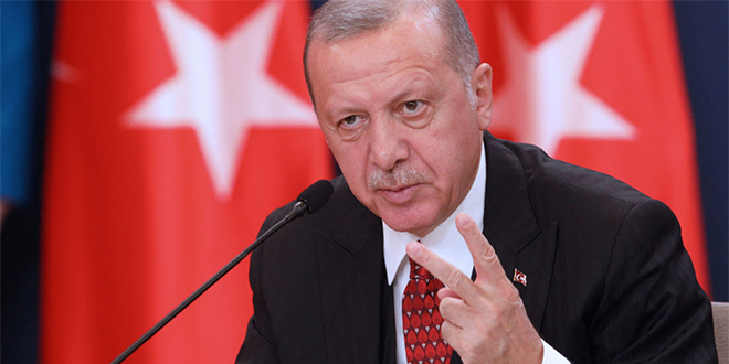 Offensive en Syrie: Erdogan menace