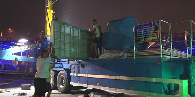 Sebta : Des migrants cachés dans les manèges d'une fête foraine