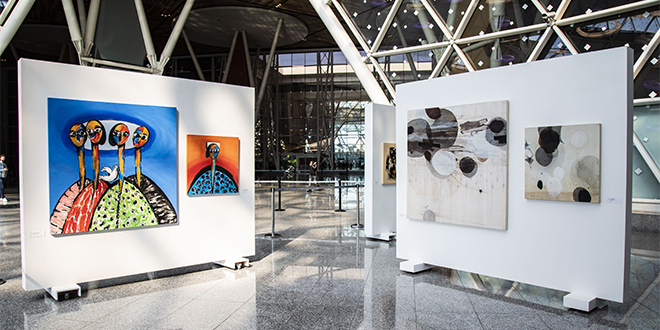 L'art pour illuminer les aéroports