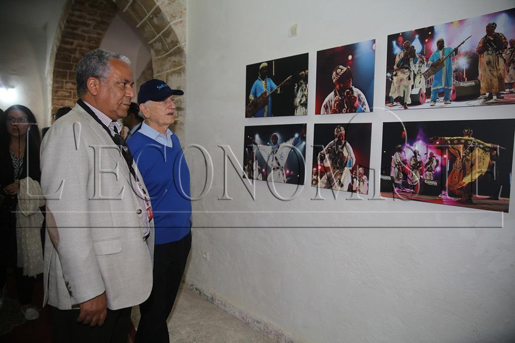Des photos de l'exposition des journalistes - (Ph. A. Jarfi)