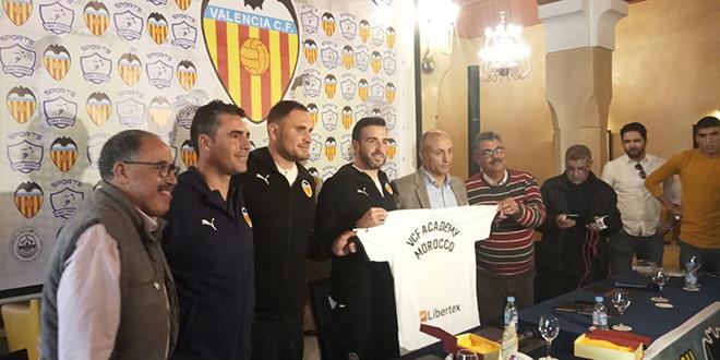 Foot: Le FC Valence ouvre son académie au Maroc