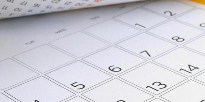 Calendrier: Voici les jours féries 2019