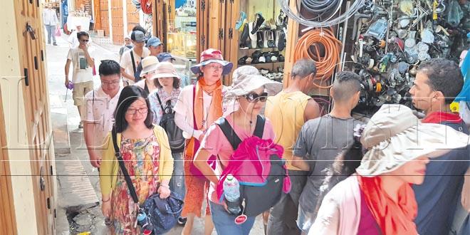 Tourisme : Les arrivées en forte hausse