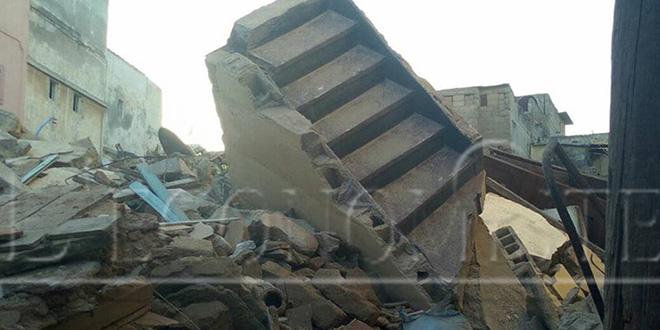 DIAPO-Effondrement à l'Ancienne Médina: les dessous du drame