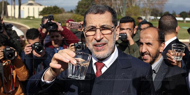 DIAPO-Qualité de l'eau : Coup de com' d'El Othmani et d'Afilal
