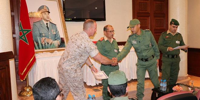 DIAPO : L'exercice militaire maroco-US démarre à Agadir