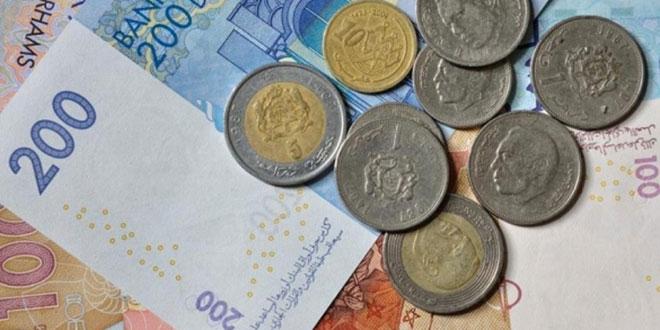 Le dirham s'apprécie face à l'euro en octobre