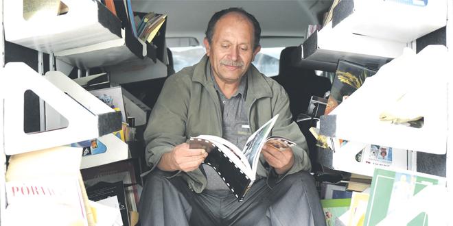 La force des mots des livres recyclés