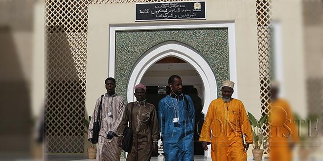 Le projet d'extension de l'Institut Mohammed VI pour la formation des Imams inauguré par le Roi
