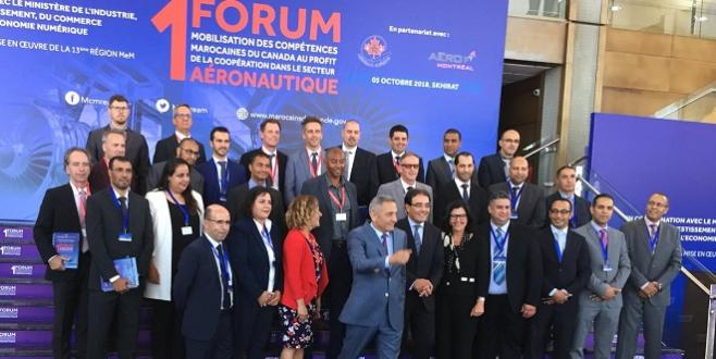 Canada : Les compétences marocaines en aéronautique montent leur réseau