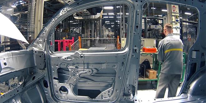 Renault: Les usines françaises et espagnoles à l'arrêt