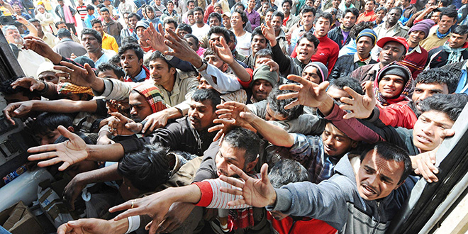 Les Français pour plus de la moitié contre l'accueil des migrants