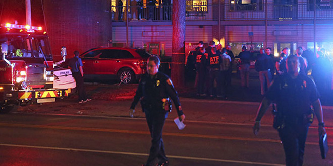 USA: Un mort et quatre blessés dans une fusillade