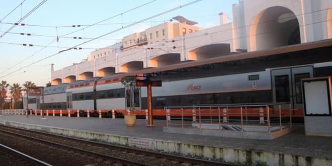 Gare Rabat-Agdal : Les quais d'embarquement déplacés