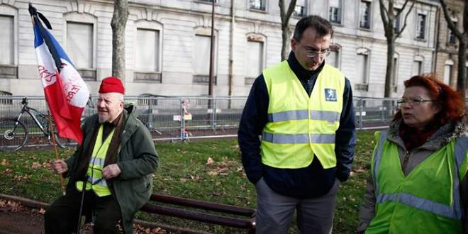 """Les """"Gilets jaunes"""" dans la rue pour le 14ème samedi"""